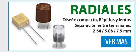 Fusibles radiales