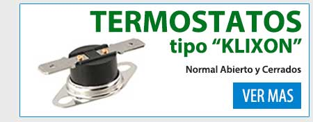 Termostatos Clixon
