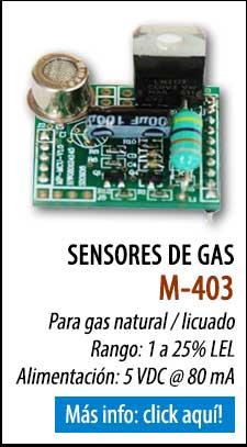 Sensor de gas M-403
