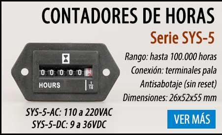 Horometro sys-5