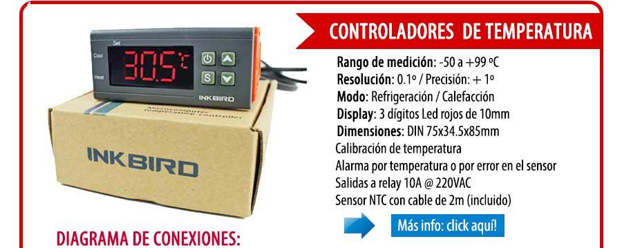 GM Electrónica - Controles - Pirómetros