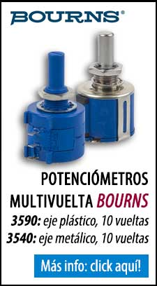 Potenciómetros Bourns