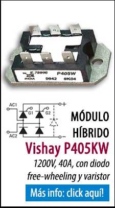 Módulos de tiristores y diodos