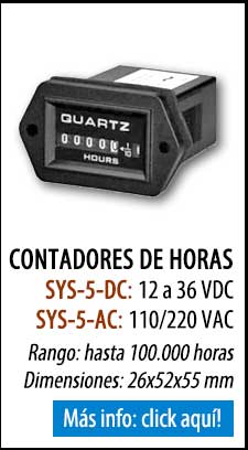 Contador de horas SYS-5
