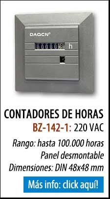 Horómetro BZ-142-1 para 220V
