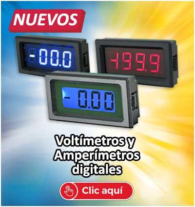 Voltímetros y amperímetros